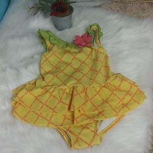 Gymboree Baby Girl Swimsuit SZ 6-12M